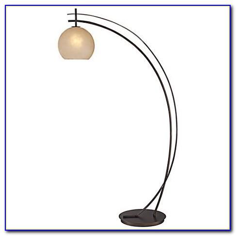Adesso Maui Arc Floor Lamp Antique Bronze Finish