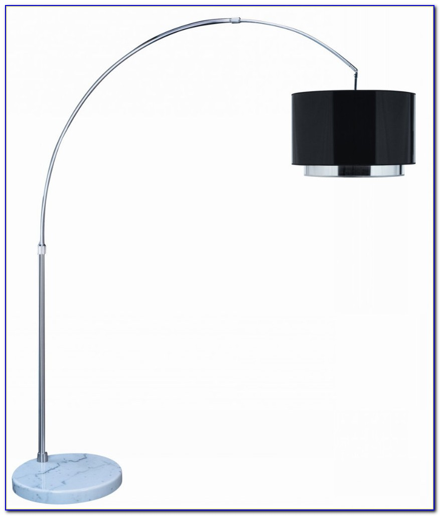 Arc Floor Lamp Black Shade