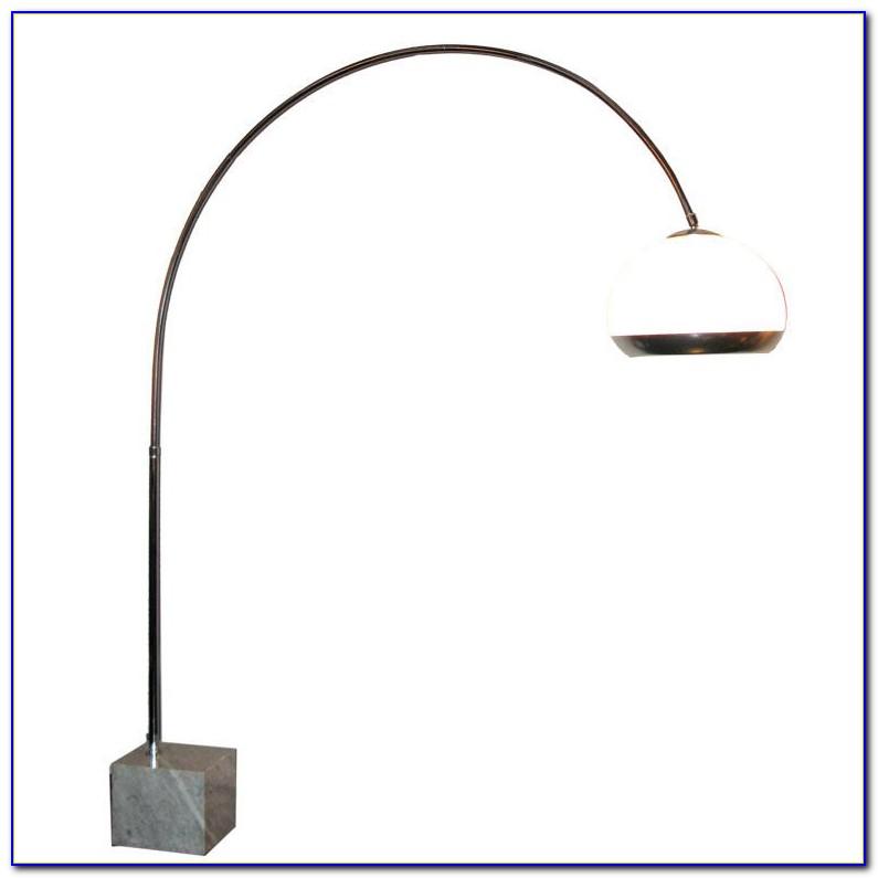 Arc Floor Lamp Drum Shade