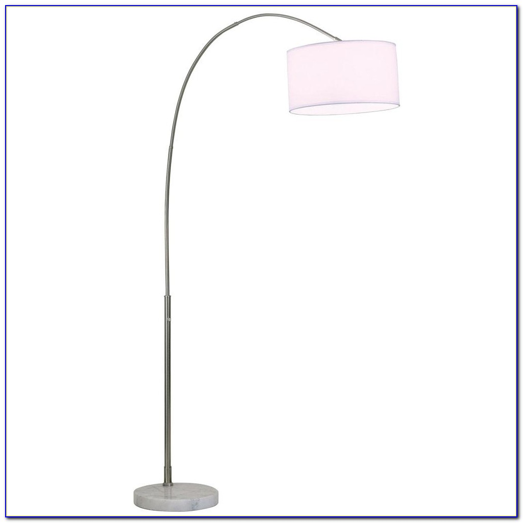Arc Floor Lamp White Shade