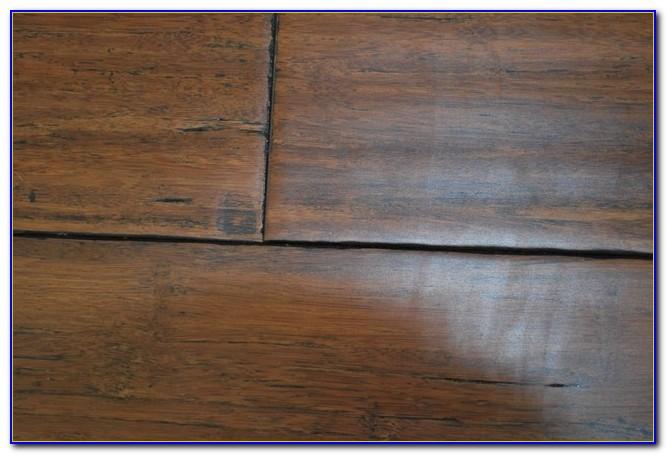 Bamboo Hand Scraped Flooring