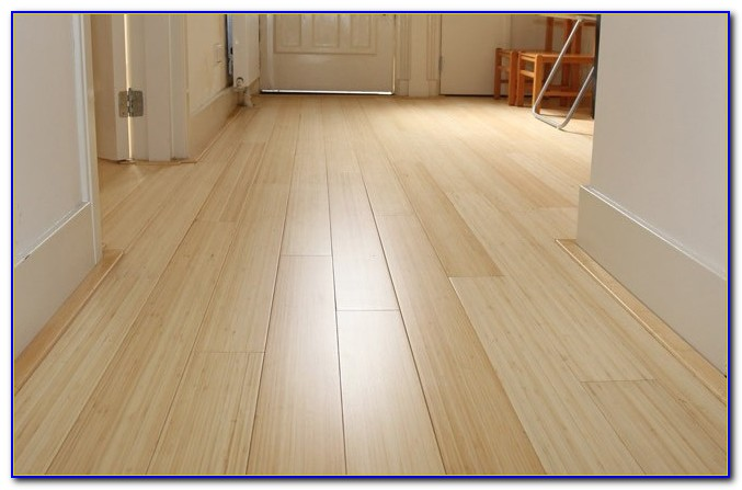 Bamboo Wide Plank Flooring