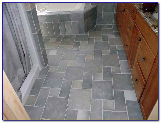 Bathroom Floor Tile Ideas Traditional