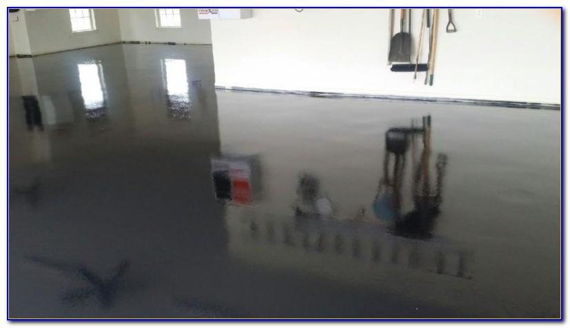 Black Epoxy Garage Floor Coating