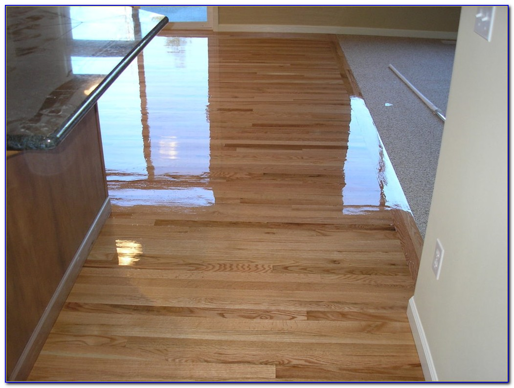 Bona Water Based Hardwood Floor Finish