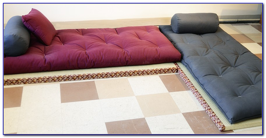 Brand New Black Traditional Japanese Floor Futon Mattresses