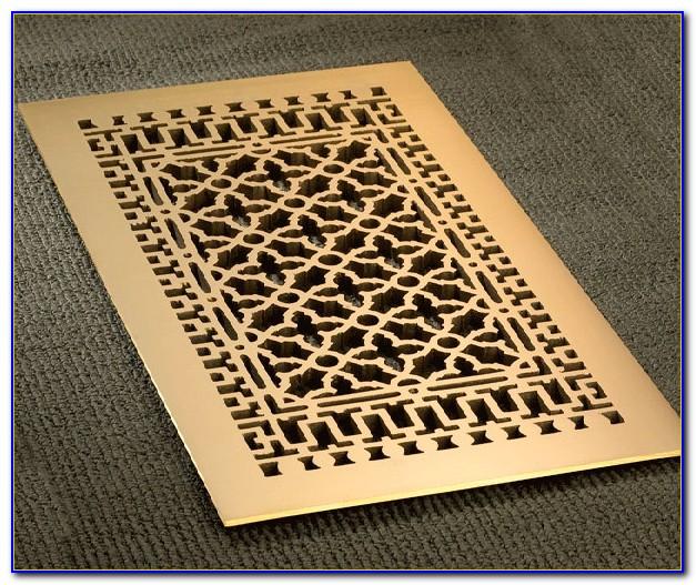 Brass Floor Vent Covers