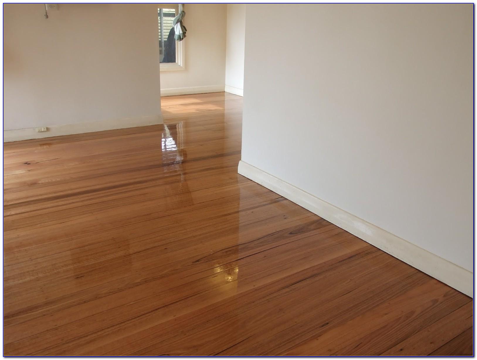 Buffer Sanding Hardwood Floors