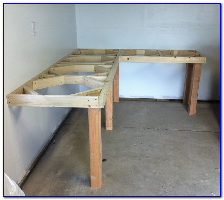 Building A Garage Workbench
