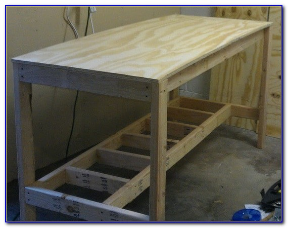 Building A Workbench With Drawers
