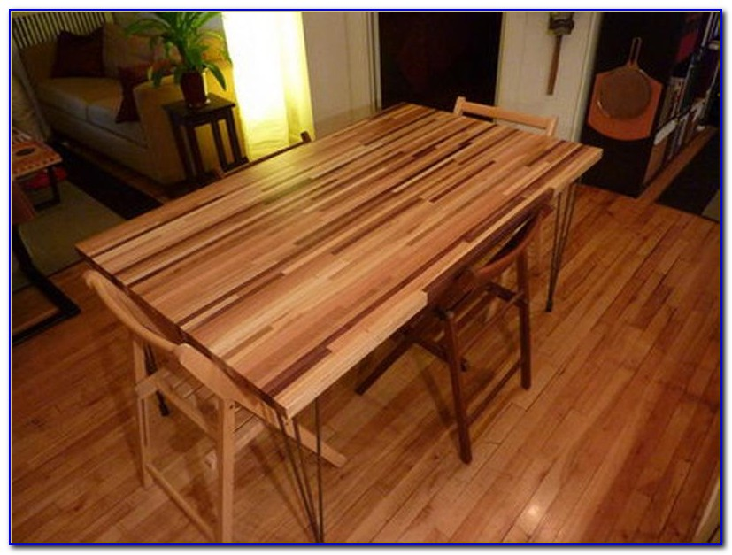 Butcher Block Hardwood Flooring Durability