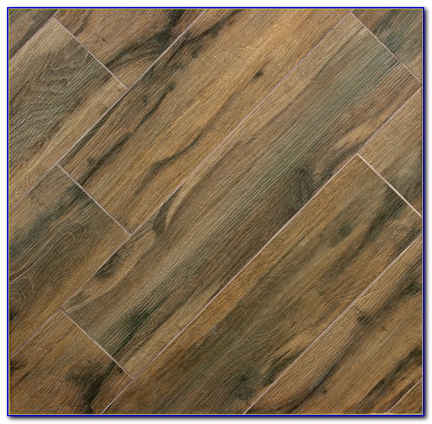 Ceramic Tile Hardwood Floor Look