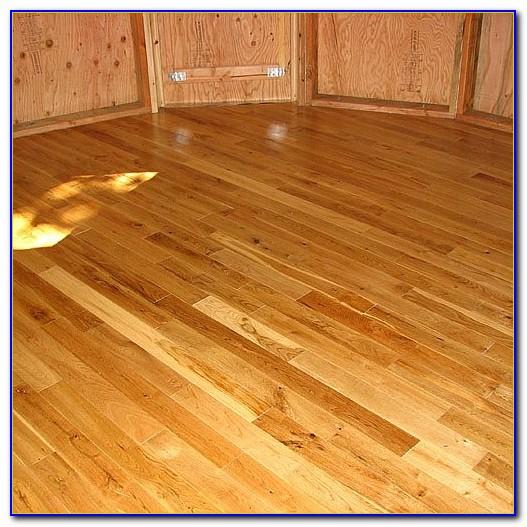 Cleaning Finished Hardwood Floors Polyurethane