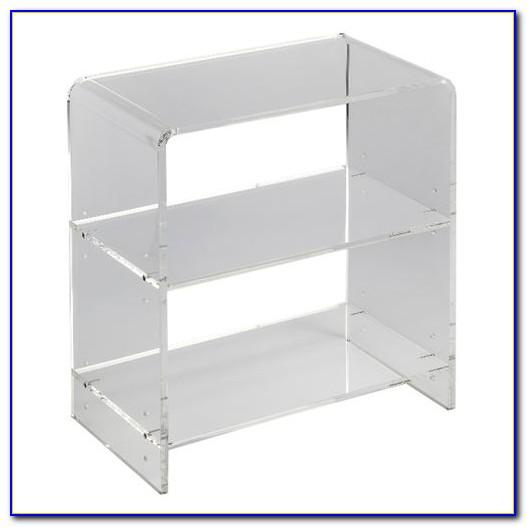 Clear Acrylic Bookshelves Australia