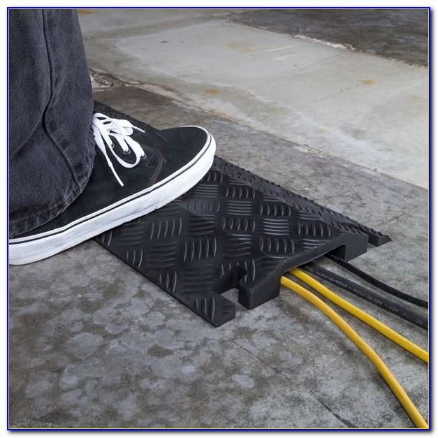 Cord Cover Floor Mats