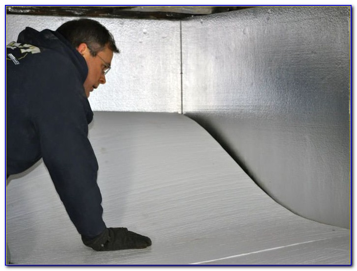 Crawl Space Floor Insulation Vapor Barrier