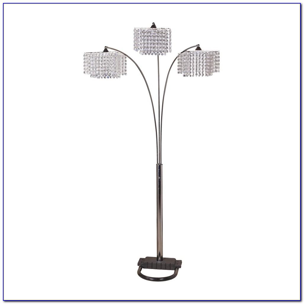 Crystal Arc Floor Lamp