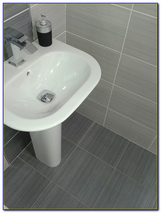 Dark Grey Ceramic Floor Tiles