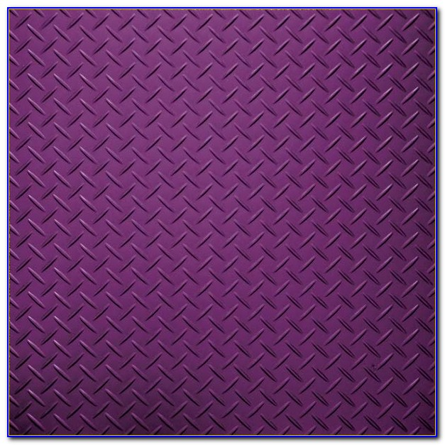 Diamond Plate Vinyl Floor Covering