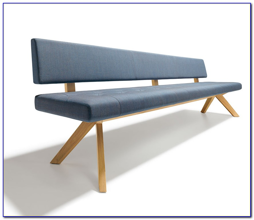 Dining Bench Seat With Backrest