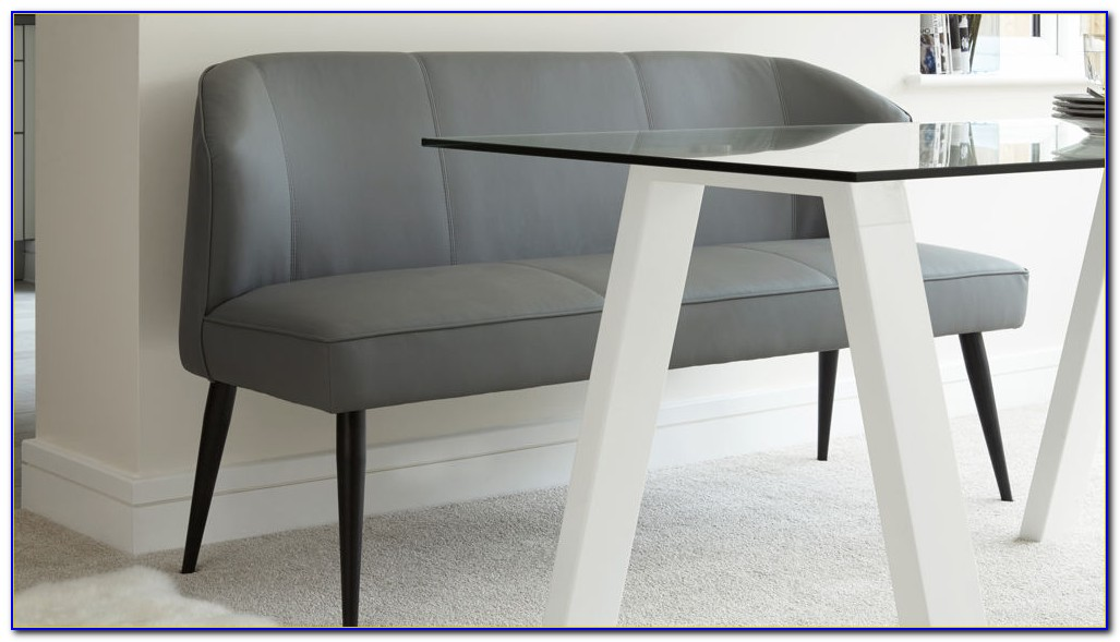 Dining Room Bench With Backrest