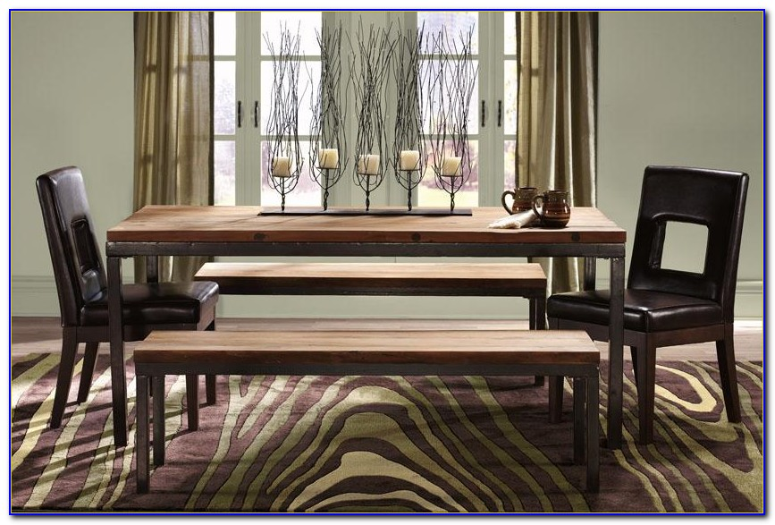 Dining Room Tables With Bench And Chairs