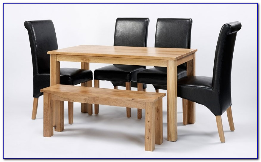 Dining Table With Bench And Chairs Uk