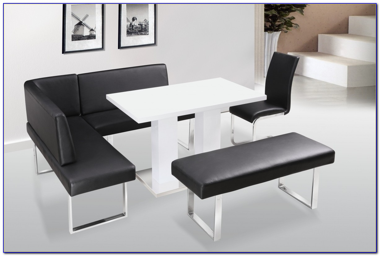 Dining Table With Bench Set