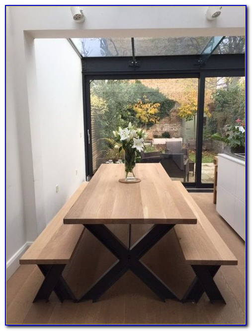 Dining Tables With Benches Uk