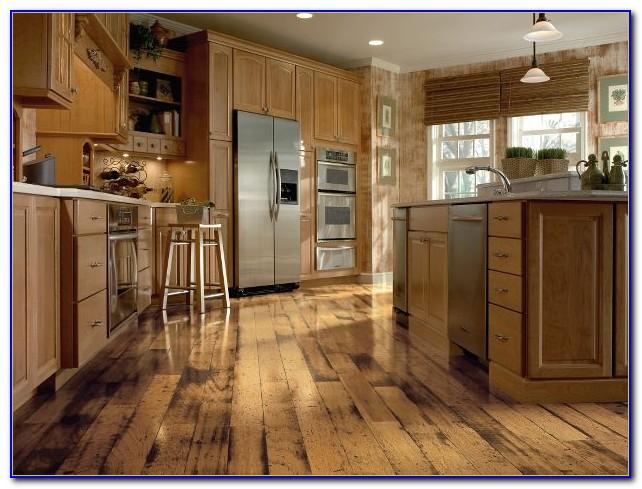 Distressed Hickory Solid Hardwood Flooring