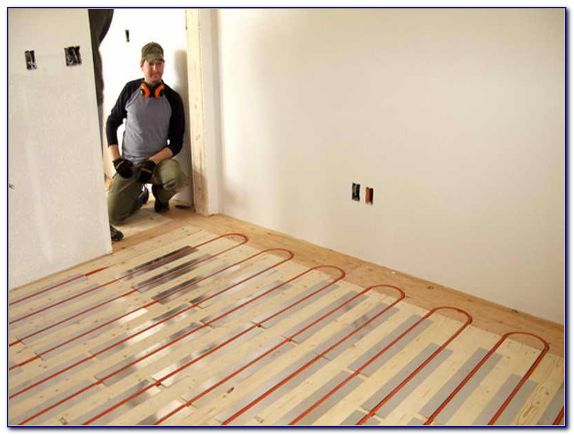 Diy Hydronic Radiant Floor Heating Installation