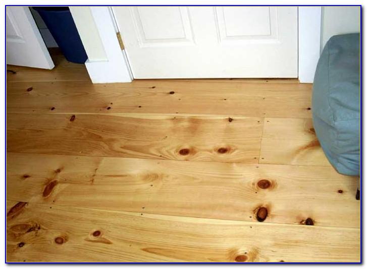 Eastern White Pine Flooring Maine