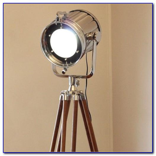 Eglo Vintage Tripod Floor Lamp
