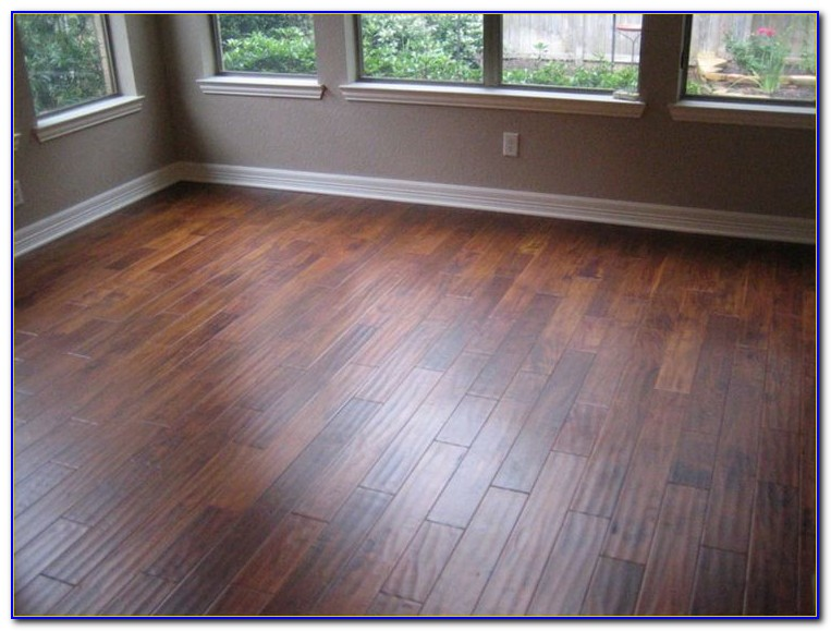 Engineered Hardwood Hand Scraped Flooring