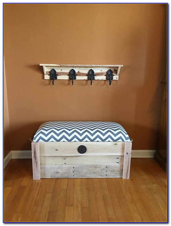 Entryway Bench And Coat Rack Set