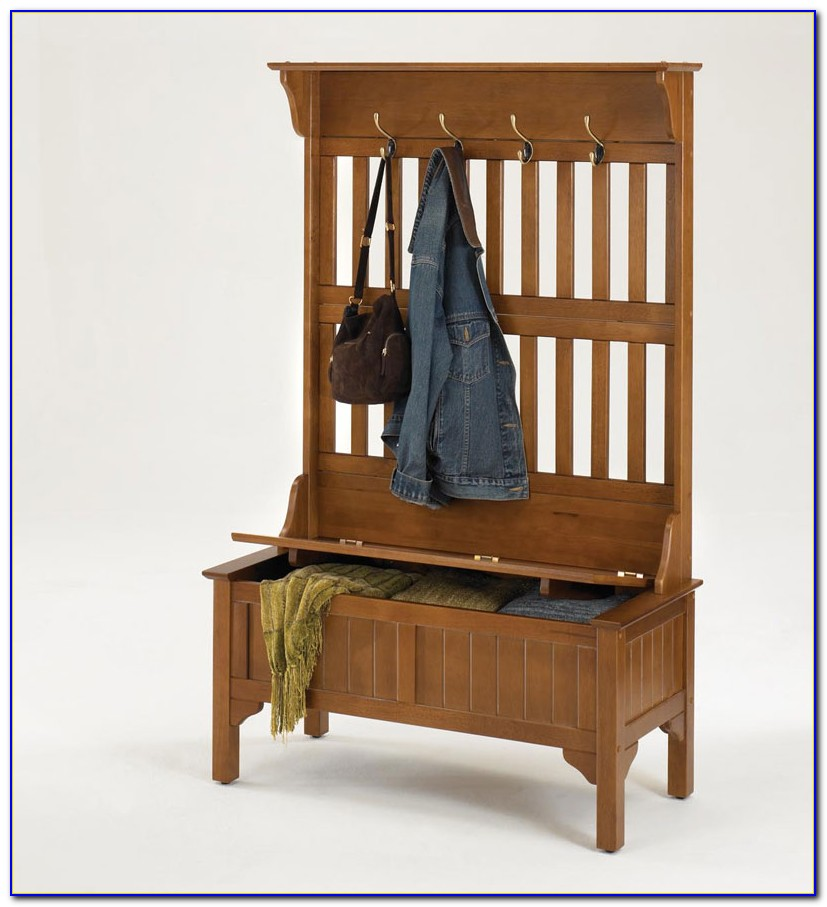 Entryway Bench With Storage Baskets