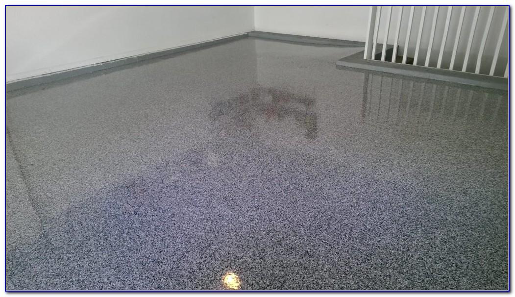 Epoxy Garage Floor Paint Flakes
