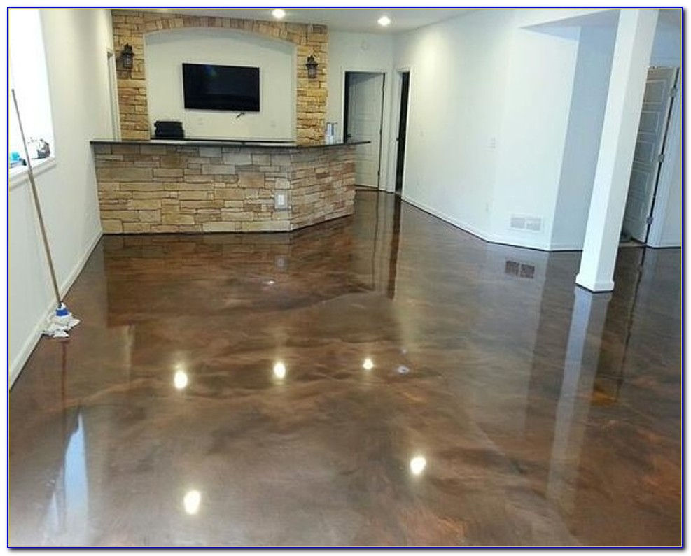 Epoxy Paint For Basement Floor