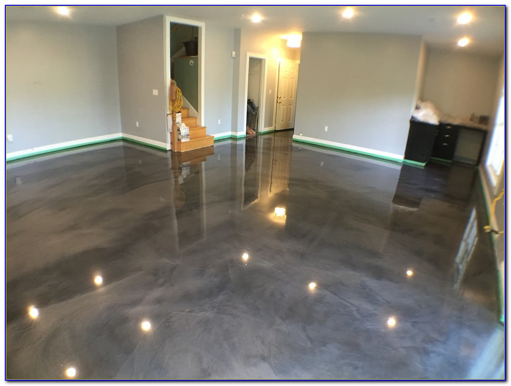 Epoxy Paint For Concrete Basement Floor