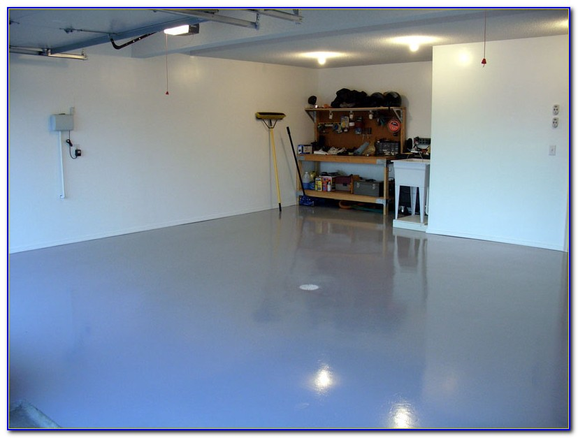 Epoxy Paint For Garage Floors Colors