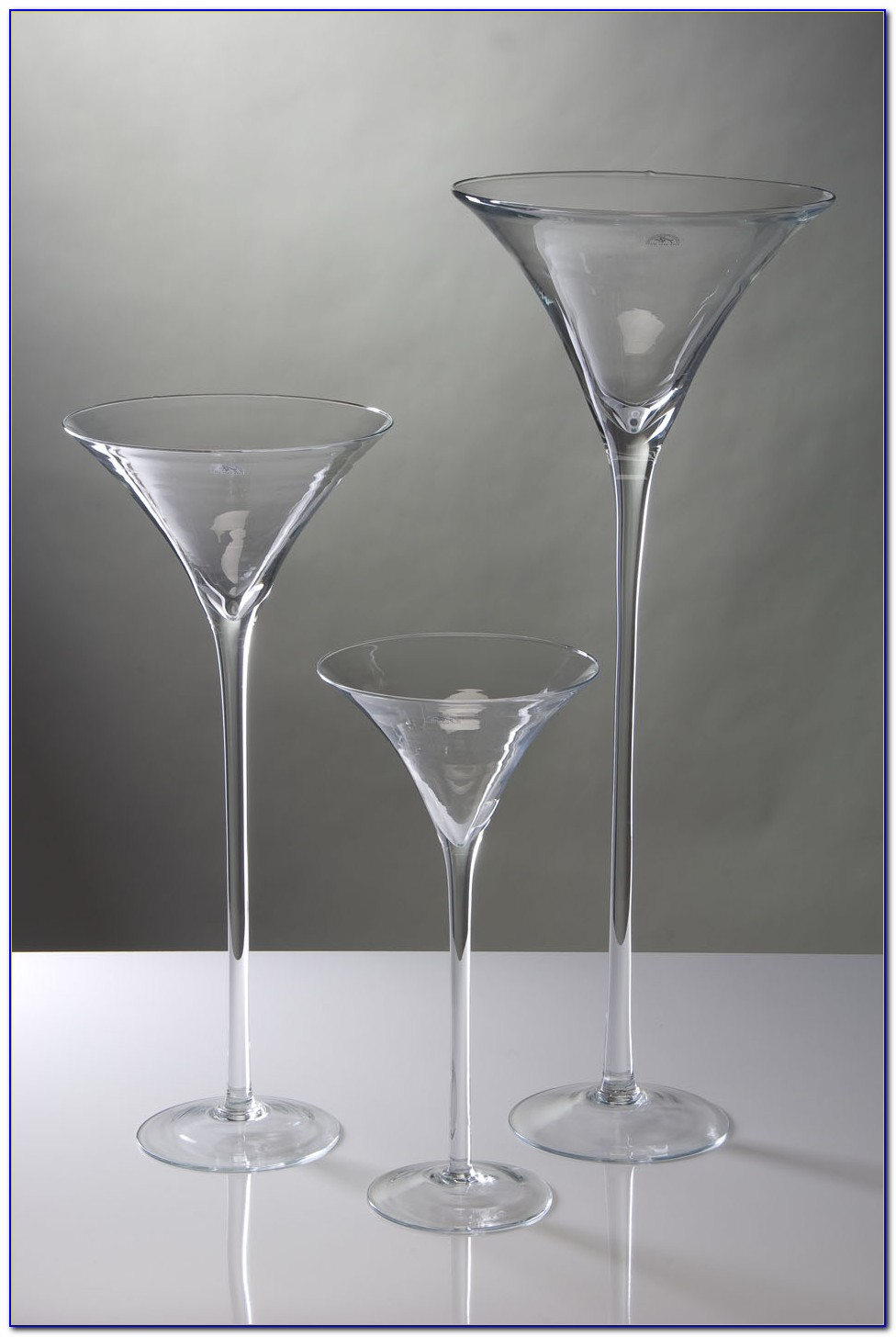 Extra Large Glass Floor Vases