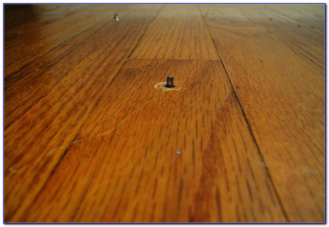 Fixing A Squeaky Floor Under Carpet