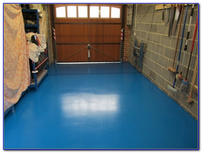 Garage Floor Leveling Epoxy
