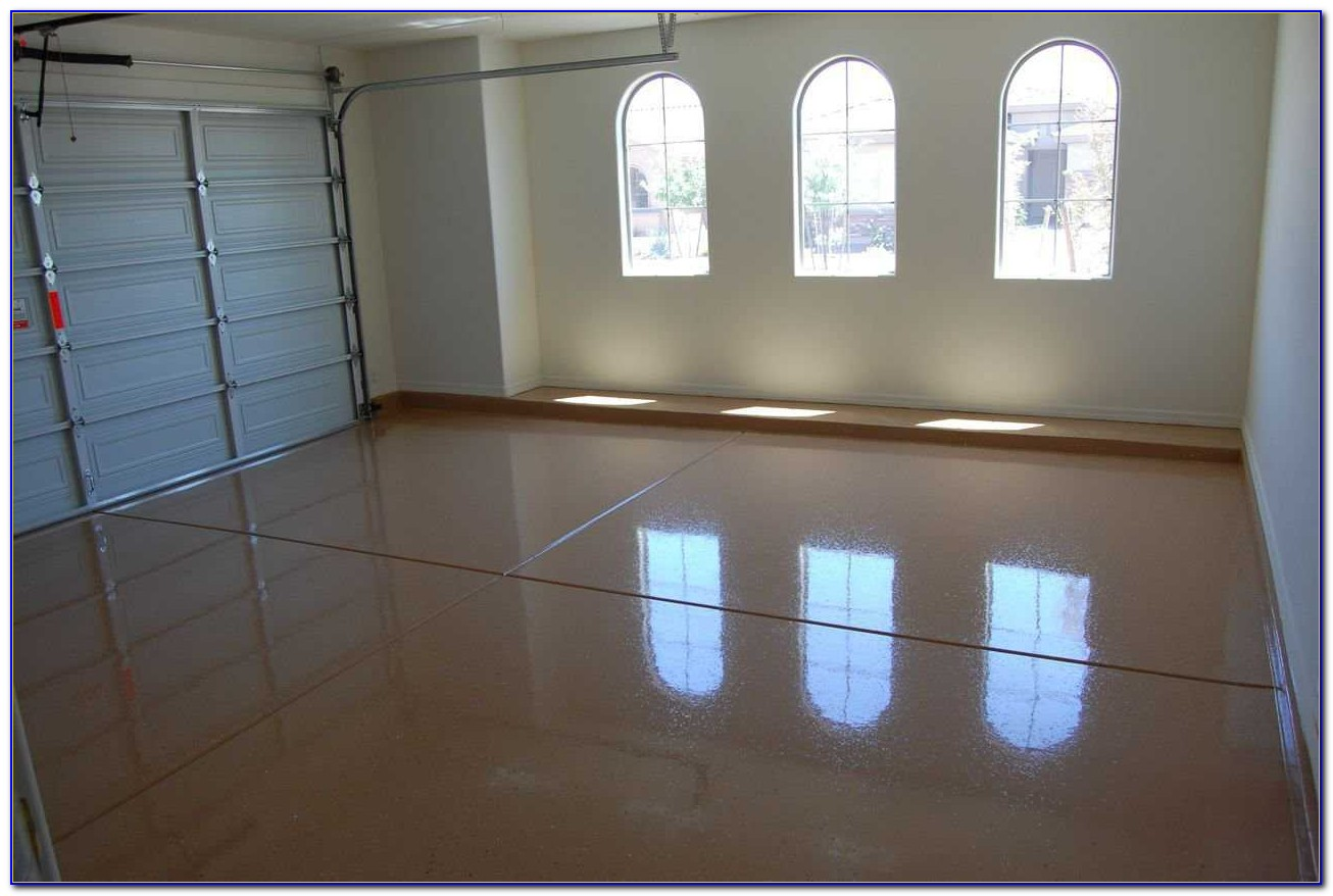 Garage Floor Self Leveling Epoxy
