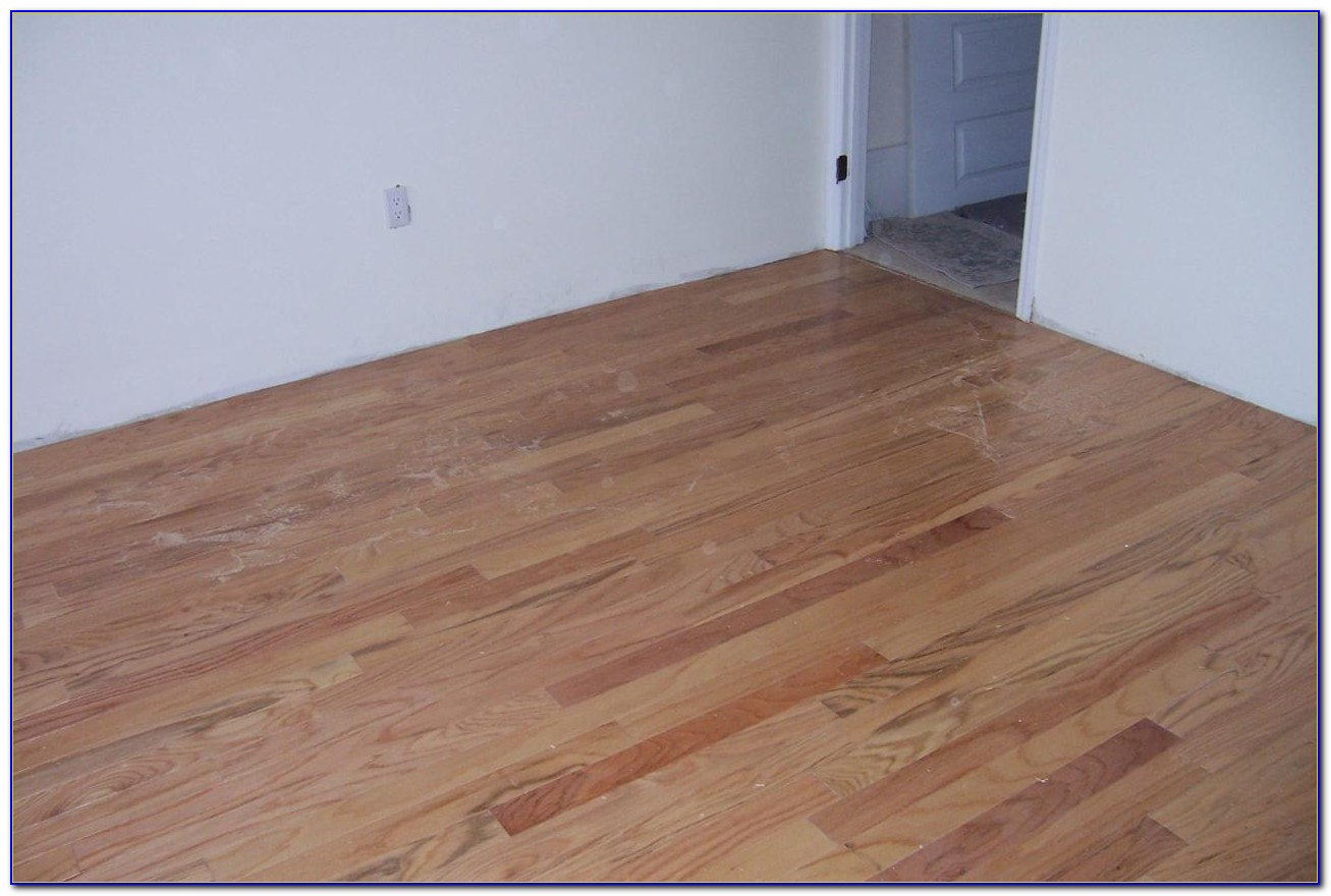 Glue Down Wood Flooring Installation