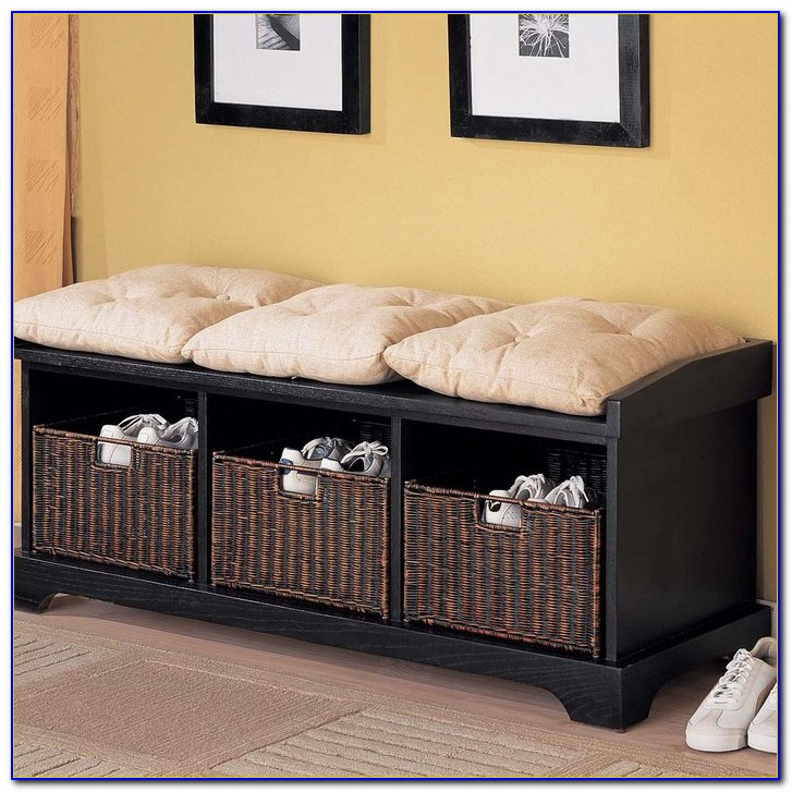 Hallway Bench With Storage Canada Only