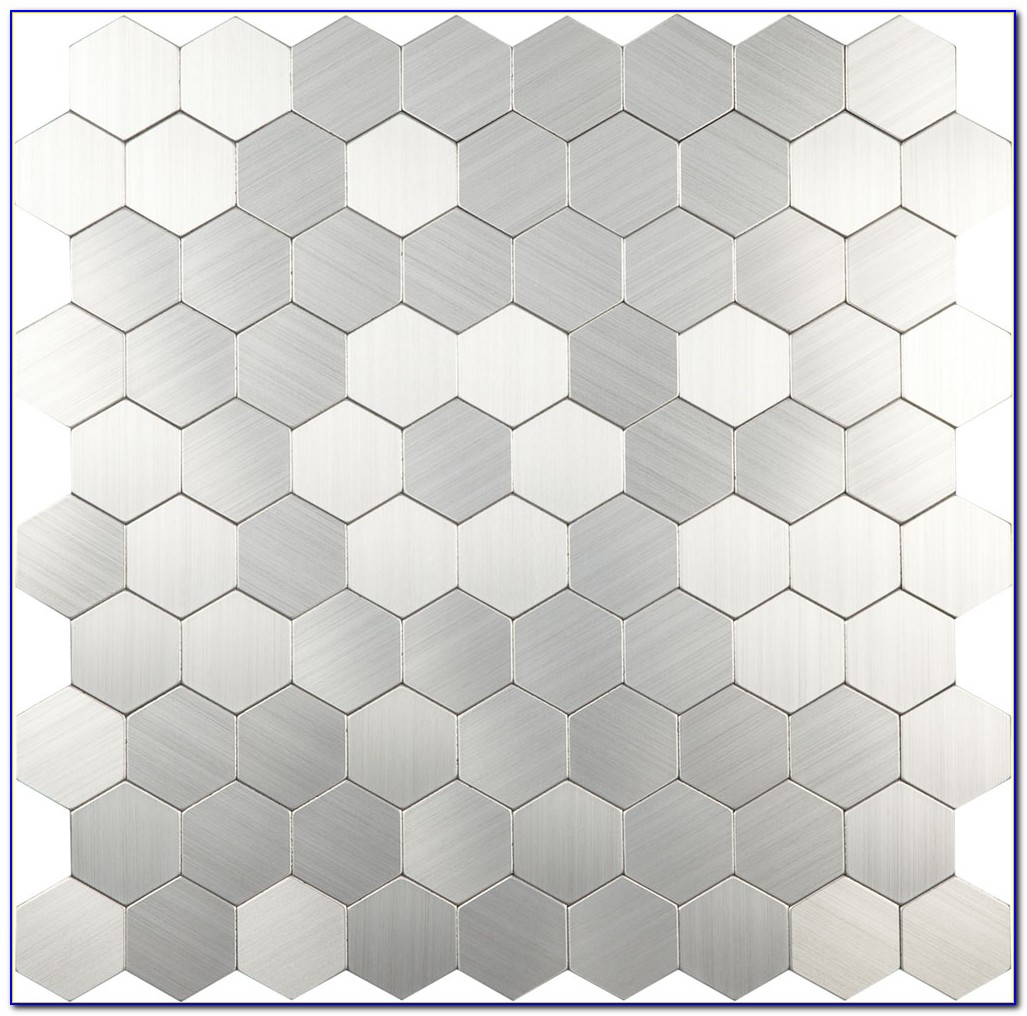 Hexagon Mosaic Marble Floor Tile