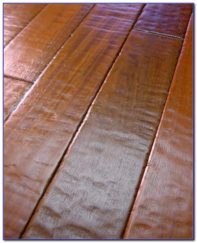 Hickory Hardwood Hand Scraped Floors