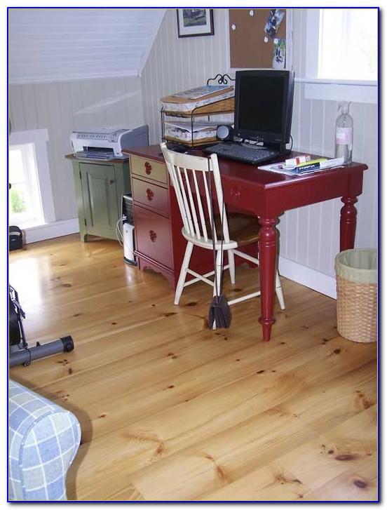 Installing Eastern White Pine Flooring