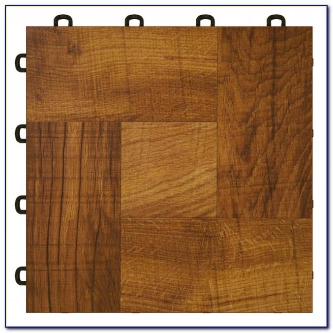 Installing Interlocking Vinyl Floor Tiles